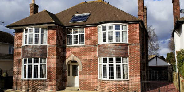 Large brick detached house